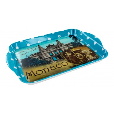 "French Extra Small Serving Tray ""Monaco"" - 8 1/2"" x 5 1/2"" -"