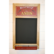 "Chalk board ""Bistrot les Amis"""