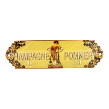 Key Holder Pommery Champagne