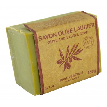 Olive and laurel soap 5.3 oz Marius Fabre (Aleppo recipe)