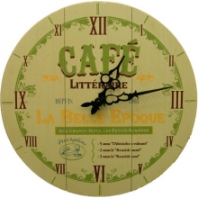 Wall Clock Cafe La Belle Epoque