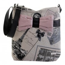 03dee3fa8f French vintage cross body bow bag