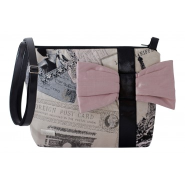 da64fe9403 French vintage bow pouch
