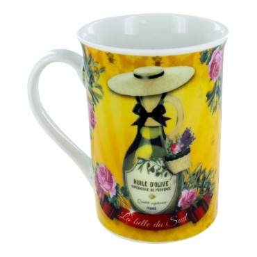 "French Mug ""La Belle du Sud"""