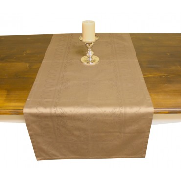 French Table runner - Garnier Thiebaut -  Eloise Sienne -