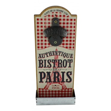 French Wall Mounted Bottle Opener French Country Decor