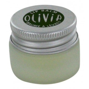 Marius Fabre Organic lip balm with shea butter and olive oil, Olivia, 0.25 fl oz jar