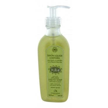 Marius Fabre Organic Shower gel, Olivia, 7.8 fl oz