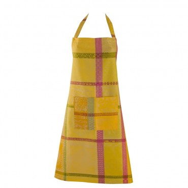 "French Apron - Jacquard - Stain resistant  - Oasis 30""x33"""