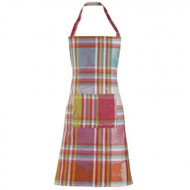"""French Apron - Jacquard - Stain resistant - Cupcake - 30""""x33"""""""