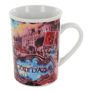 "French Mug ""Cote d'azur"""