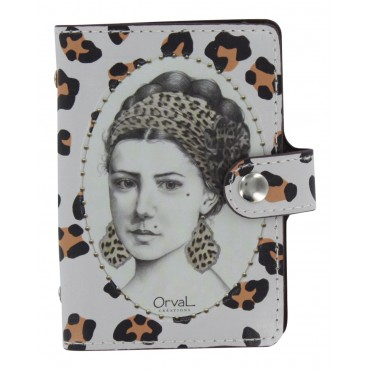 Paris Credit card holder - Book style - Mona -