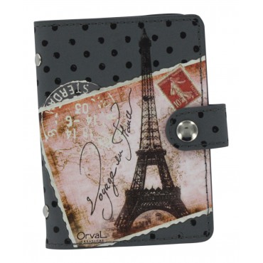 Paris Credit card holder - Book style - Voyage en France -
