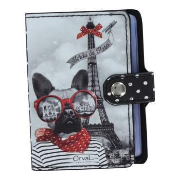Paris Credit card holder - Book style - Mordu de Paris -