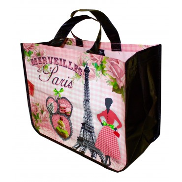 "French shopping Bag ""Merveilles de Paris"""