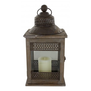 Candle lantern, French vintage design