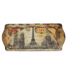 "French Small Tray ""Paris Monuments"""
