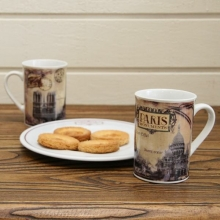 "French Mug ""Paris Monuments"""