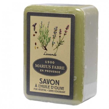 "Savon de Marseille, 8.8 oz, all natural vegetable oils, fragrance ""lavande"" (lavender)"