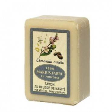 "Savon de Marseille, 8.8 oz, all natural vegetable oils, fragrance ""amande amere"" (bitter almond)"