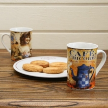 "French Mug ""Cafe-Chicoree"""