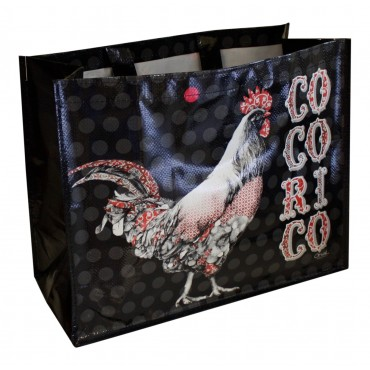 "French shopping Bag ""Cocorico"""