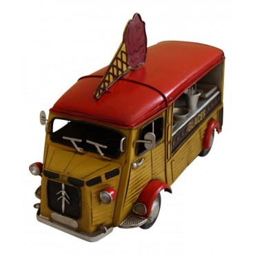 Miniature ice cream truck, Citroen H Van