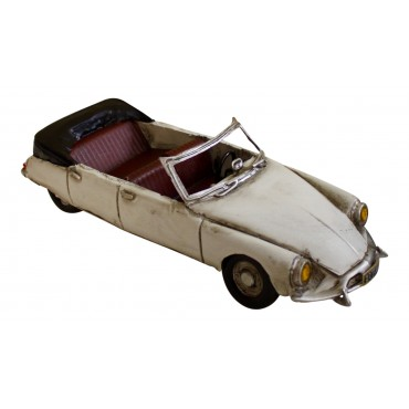 Miniature car, vintage, Citroen DS cabriolet