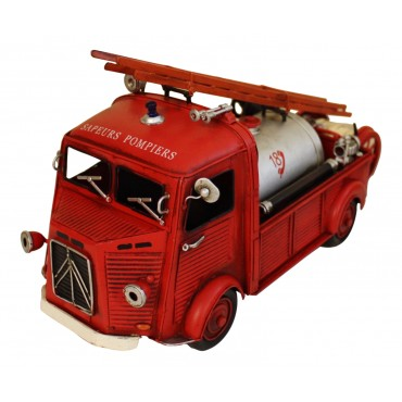 Miniature fire truck, Citroen H