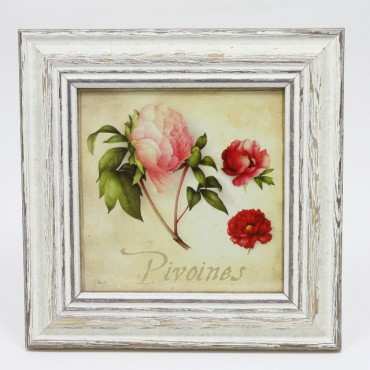 French Square Frame PIVOINE