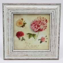 French Square Frame ROSES