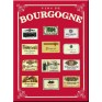 "French Metal Card 5.9"" x 8.3"" Vins de Bourgogne"