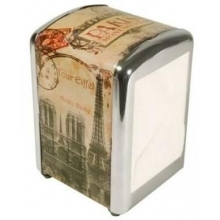 "French Napkins dispenser ""Paris Monuments"""
