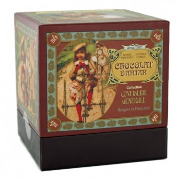 French Scented Candle Chocolat d'Antan