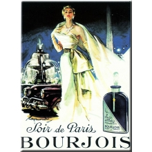 "Metal Card 5.9"" x 8.3"" BOURJOIS."