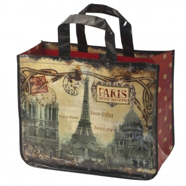 "Shopping Bag ""Monuments of Paris"""
