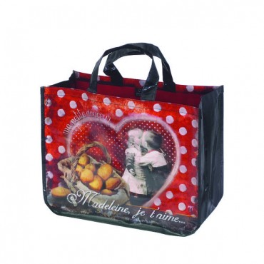 French shopping bag - Madeleine je t'aime