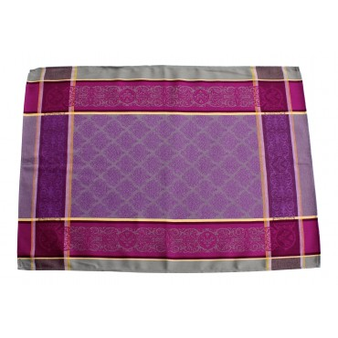 Provence Kitchen Towel Jacquard Purple