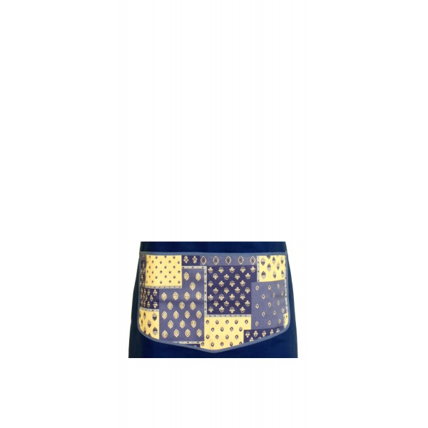 provence apron blue 100 cotton made in france my french neighbor. Black Bedroom Furniture Sets. Home Design Ideas
