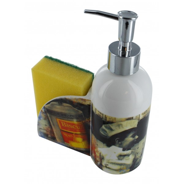 french kitchen soap dispenser biscuits - french country decor