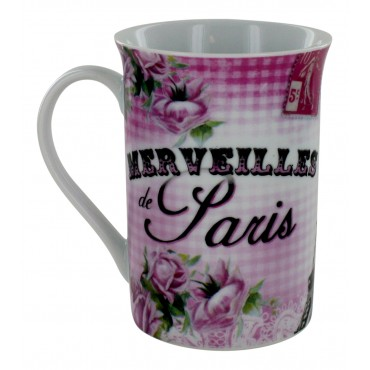 "French Mug ""Merveilles de Paris"""