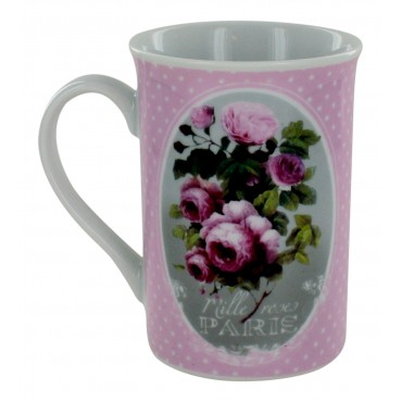 "French Mug ""Mille roses Paris"""